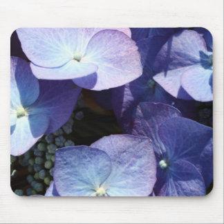 Hydangea violeta tapetes de ratón