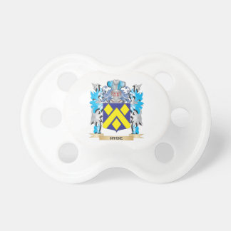 Hyde Coat of Arms - Family Crest Baby Pacifiers
