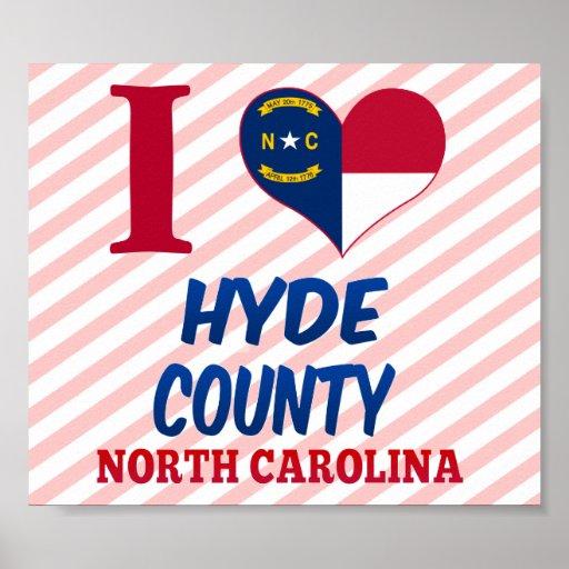 Hyde County, North Carolina Poster