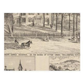 Hyde Hotel in Wallingford Postcard