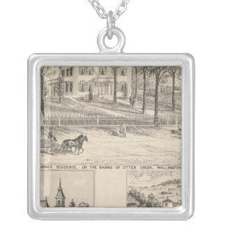 Hyde Hotel in Wallingford Silver Plated Necklace