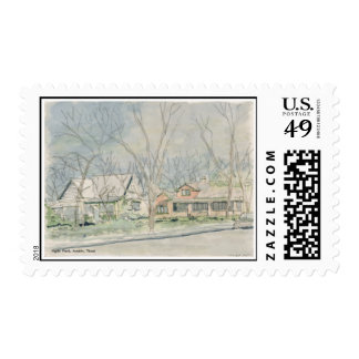 Hyde Park, Austin, Texas Postage Stamps