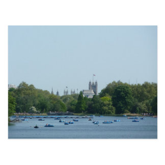Hyde Park, Boating on the Serpentine Postcard