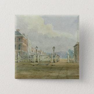 Hyde Park Corner Turnpike, 1785 Button