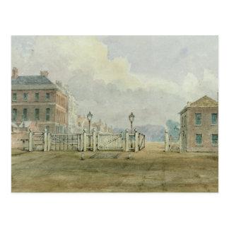 Hyde Park Corner Turnpike, 1785 Postcard
