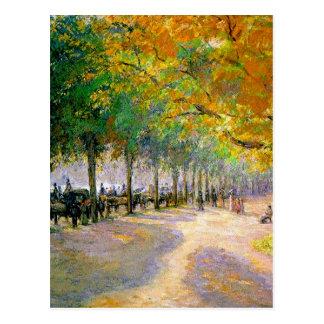 Hyde Park, London by Camille Pissarro Postcard
