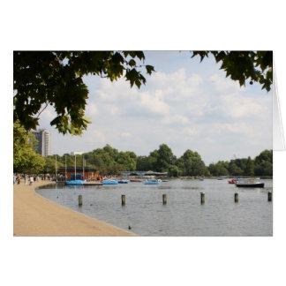 Hyde Park, Londres Tarjeta De Felicitación