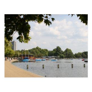 Hyde Park, Londres Tarjeta Postal
