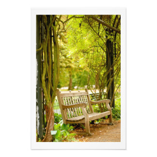 Hyde Park - Park Bench Art Photo