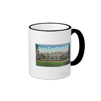 Hyde Park View of President FDR s Mansion Coffee Mug