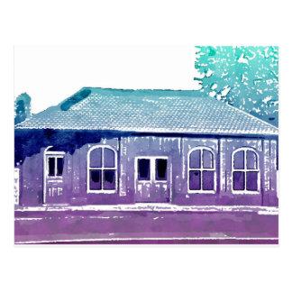 Hyde Park's Historic Cable Car Building Postcard