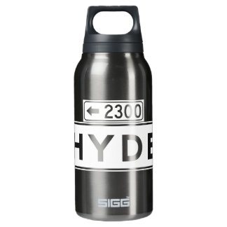 Hyde St., San Francisco Street Sign Insulated Water Bottle