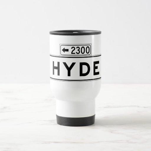 Hyde St., San Francisco Street Sign Coffee Mug