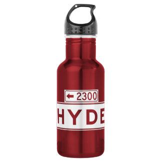 Hyde St., San Francisco Street Sign Water Bottle