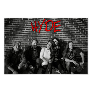 """HYDE """"Wall"""" Poster"""