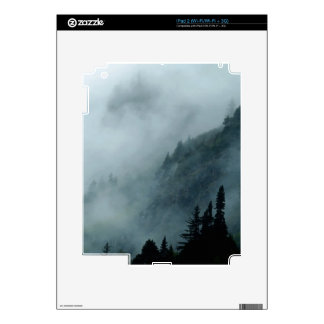 Hyder, Alaska Misty Forests Nature Scene iPad 2 Decal