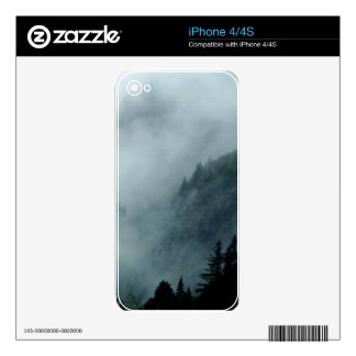 Hyder, Alaska Misty Forests Nature Scene iPhone 4S Decal