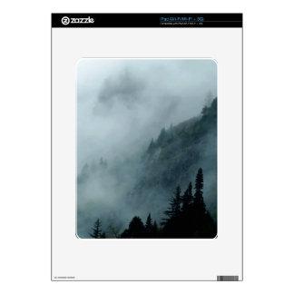 Hyder, Alaska Misty Forests Nature Scene Skins For iPad