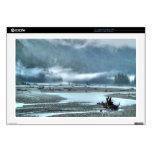 Hyder, Alaska Misty River & Forests Nature Scene Decal For Laptop