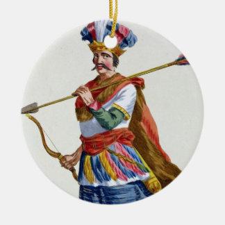 Hyder Ali (1722-82) from 'Receuil des Estampes, re Ceramic Ornament