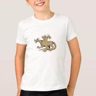 Hydra Crouching Attack Cartoon T-Shirt