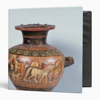 Hydra depicting the departure of a warrior vinyl binders