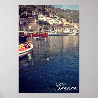 Hydra, Grecia Posters