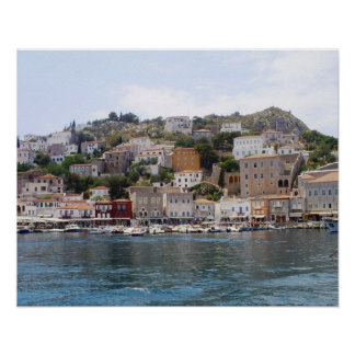 Hydra Island Greece Poster