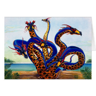 Hydra on Beach card