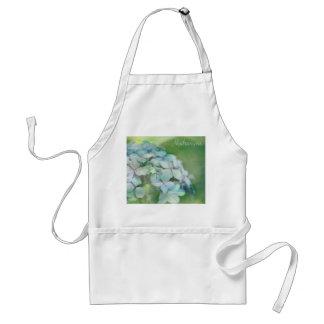 Hydrangea Adult Apron