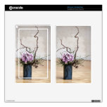 Hydrangea and Wood Vase Watercolor Skins For Kindle Fire