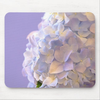 Hydrangea azul adaptable Mousepad