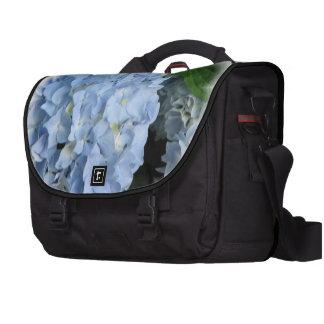 Hydrangea azul bolsas para portátil