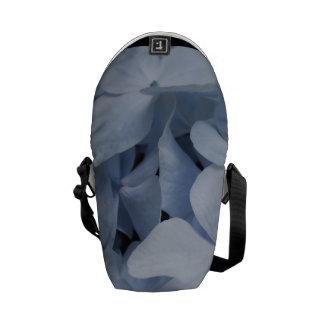 Hydrangea azul bolsas de mensajería