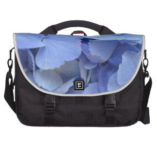 Hydrangea azul bonito bolsas de portátil