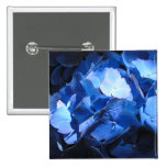 Hydrangea azul - botón #1 pin