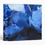 Hydrangea azul - carpeta de la receta
