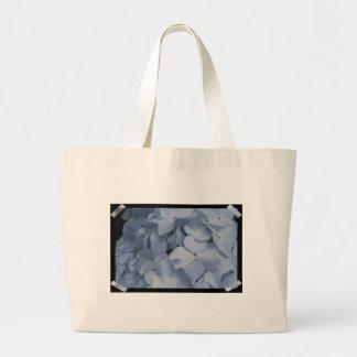 Hydrangea azul claro bolsas