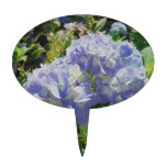 Hydrangea azul púrpura figuras para tartas