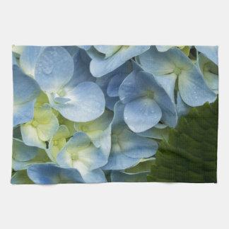 Hydrangea azul toallas de cocina
