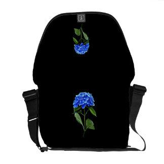 Hydrangea azul vivo bolsas messenger