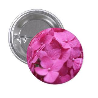 Hydrangea Badge Button