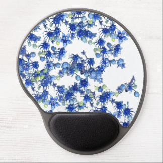 hydrangea bgc transparent gel mouse pad