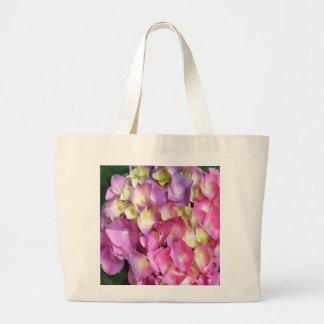 Hydrangea  Blossom  Grocery Tote Jumbo Tote Bag