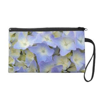 Hydrangea Blossoms Wristlet Purses