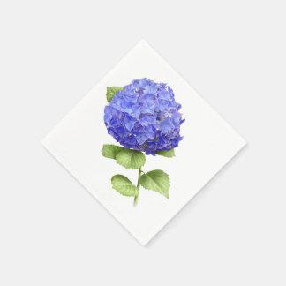 Hydrangea Blue Heaven Disposable Napkin