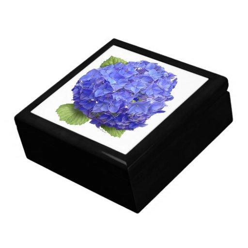 """Hydrangea """"Blue Heaven"""" Trinket Boxes"""