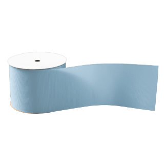 Hydrangea Blue Ribbon Grosgrain Ribbon