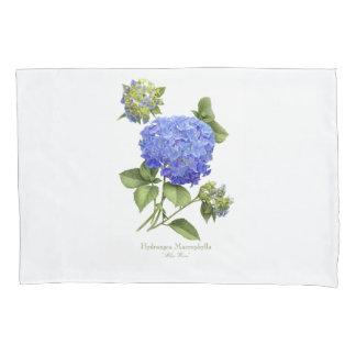 Hydrangea Blue Wave Pillowcase