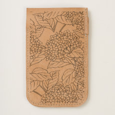 Hydrangea Botanical Line Art iPhone 6/6S Case